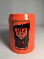 San Francisco Giants 2012 BREWFEST 8oz Mug