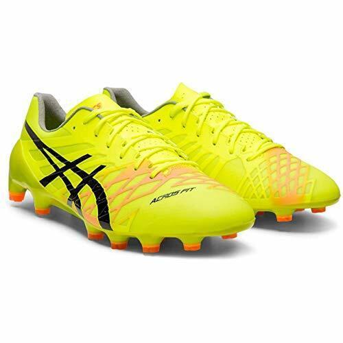 ASICS Soccer Football Spike scarpe DS LIGHT ACROS 1101A017 giallo US624.5cm