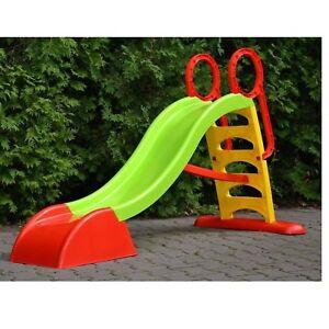 Hervorragend Rutsche Kinderrutsche Garten Kinder Gartenrutsche rot grün 184 cm UO77