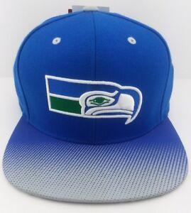 7dc43e5fd Seattle Seahawks NFL Mitchell   Ness snap-back hat cap  NFC football ...