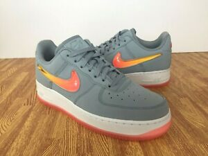nike AIR FORCE 1 '07 PRM 2 OBSIDIAN MISTHOT PUNCH UNIVERSITY GOLD bei