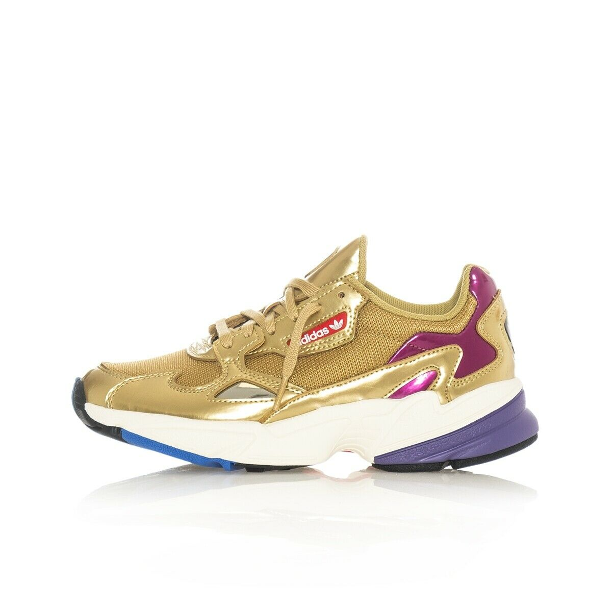 Sneakers Women Adidas Falcon W cg6247 Casual Style snkrsroom gold