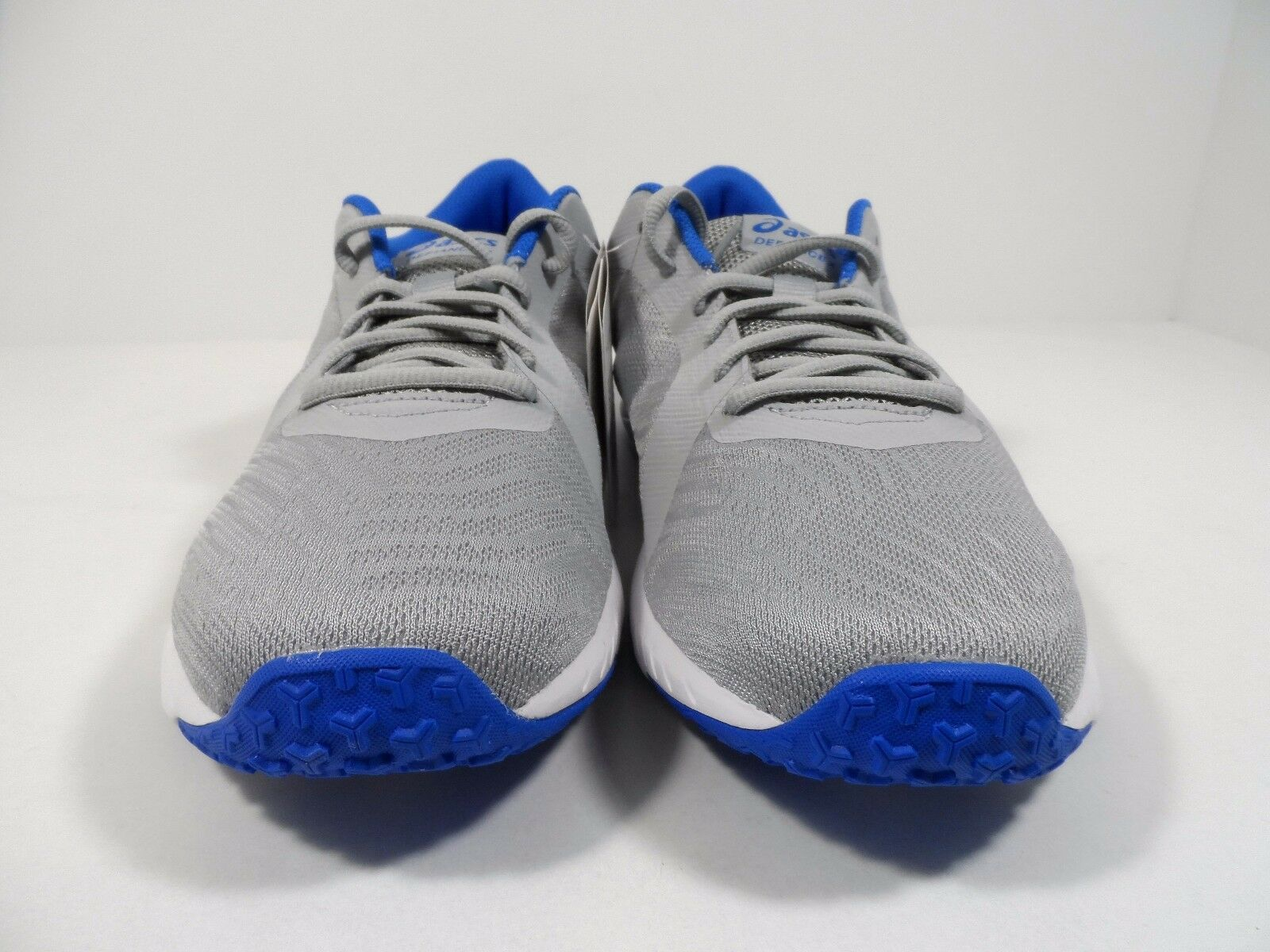 ASICS Men's Defiance X CrossTrainer-shoes CrossTrainer-shoes CrossTrainer-shoes Mid Grey Directoire bluee White Sz 10.5 06bb61