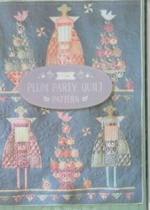 TILDA-Plum-Party-Quilt-pretty-pieced-quilt-PATTERN