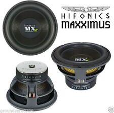 fürHIFONICS Maxximus MXZ12D4 Subwoofer 2000WATTS FOR Wettbewerb Geräusch