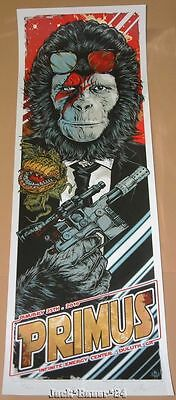 Primus Duluth Rhys Cooper Signed Numbered Poster Print Art 2016
