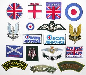BRITISH-FORCES-UK-PATCHES-Any-Patch-1-95-Iron-On-Free-1st-Class-Post-UK