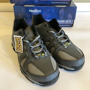 f91927c3846278 New In Box Nautilus Womens Steel Toe Work Shoes ESD Safety Toe ...