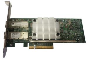 HP-656244-001-Ethernet-10Gb-Puerto-Dual-530SFP-Pcie-Adaptador-de-Tarjeta