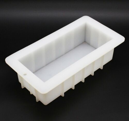 Rectangular Silicone DIY Rectangle Loaf Soap Mold 39 oz ~ US Seller