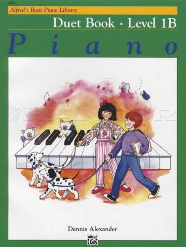 Alfred/'s Basic Piano Library Duet Book Level 1B Sheet Music by Dennis Alexander
