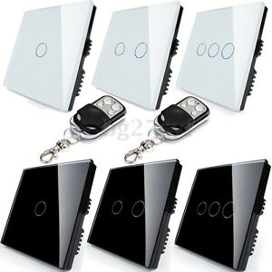 1-2-Way-1-2-3-Gang-Crystal-Glass-Touch-Light-Wall-Switch-Panel-Remote-Controller