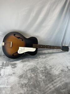 Vintage  Kay L-5198 Archtop Acoustic Guitar Repair Or Wall Art