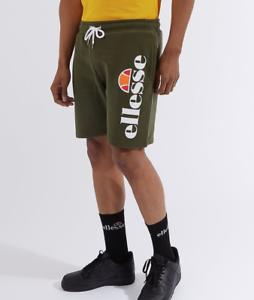 Ellesse Bossini Fleece Logo Branded Short in Khaki RRP £24.99 BNWT