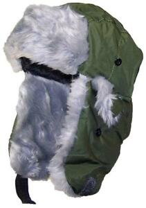 13b2d827d24 Best Winter Hats Adult Nylon Russian Trapper W Soft Faux Fur  125 ...