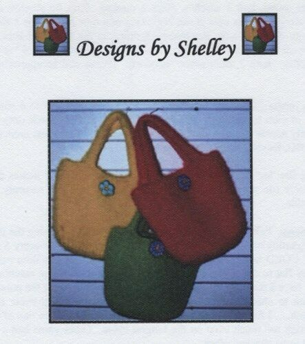 The Retro Bag felted Designs by Shelley