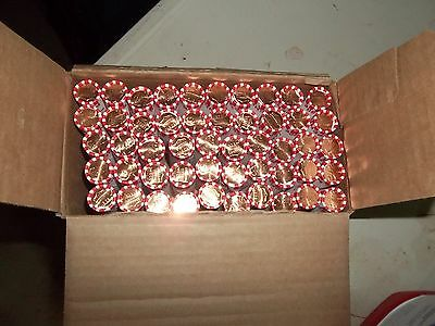 10 ROLLS OF 2016D UNCIRCULATED /& UNSEARCHED FEDERAL RESERVE 500 PENNIES NEW BOX