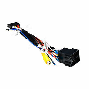 ISO Wiring Harness Car Stereo Adapter Connector Radio Wire Plug For on plug to speaker wire adapter, sony car stereo wiring adapter, wiring harnes adapter, chevy radio wiring adapter, radio wiring harness product, radio wiring harness color code,