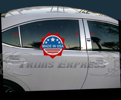 TYGER Fits 07-12 Lexus ES 350 4PC Stainless Steel Chrome Pillar Post Trim