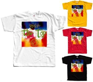 The-Cure-The-Top-Robert-Smith-album-cover-T-SHIRT-WHITE-YELLOW-RED-BLACK-S-5XL