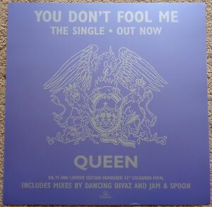 Queen-You-Don-039-t-Fool-Me-display-flat