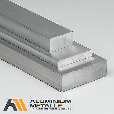 Aluminium Plat Tige 60x20mm alu plat Matériau AlMgSi 1 plat rectangulaire