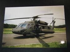 Photo Sikorsky UH-60L Black Hawk US Army Open Dag KLu Vlb Gilze-Rijen 1997
