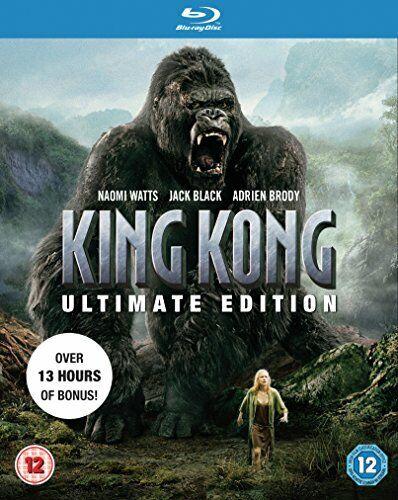 King Kong (Ultimate Edition) [Blu-ray] [DVD][Region 2]