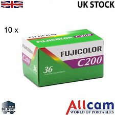 10 Pack: Fuji Colour 200 135 35mm 36 Exposure ISO200 Colour Film
