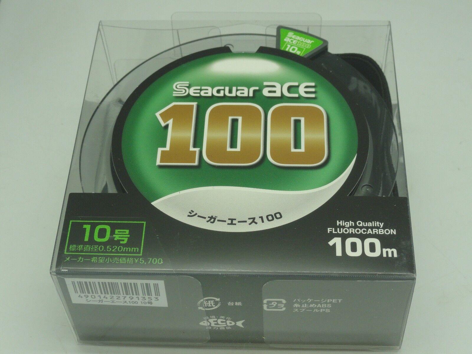 SEAGUAR verde Label U.S ACE 100% FLUOROCARBON Leader Japan   10 U.S Label 35 lb 100m/110yd 0eee01