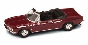 1969-Chevy-Corvair-Monza-Convertible-Burgundy-Road-Signature-94241-1-43-Diecast
