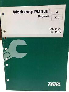 volvo penta workshop manual engines p n 7721200 dbx2 ebay rh ebay com manual volvo penta md11 volvo penta md11d manual