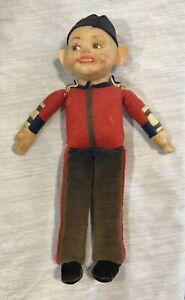Norah-Wellings-1940s-Greek-Boy-Cloth-Doll-Toy-Vintage-UK
