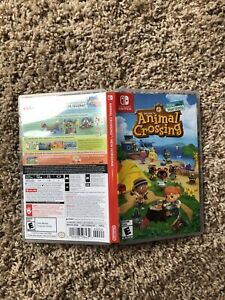 Empty Replacement Case ONLY! Animal Crossing New Horizons ...