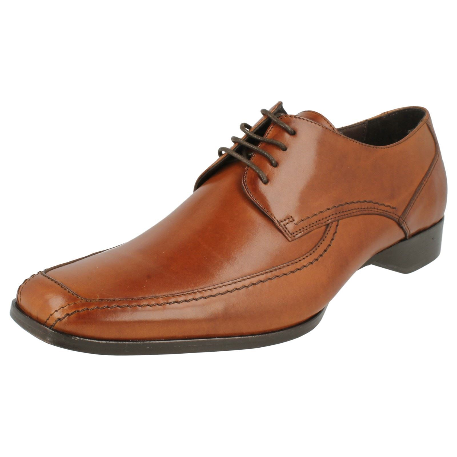 Loake Cuero con Cordones para Hombre de Diseñador Zapatos' 1369 T'