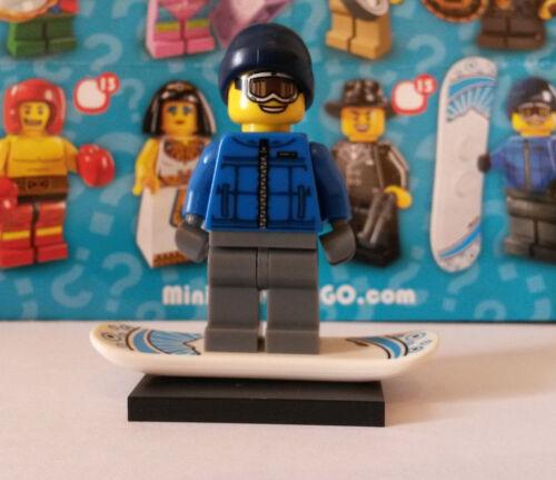 LEGO® 8805 Minifiguren Serie 5 Nr 16 Snowboardfahrer Unbespielt