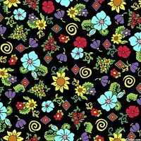 Quilting Treasures painted Ponies 24272-j Mod Floral Fabric (make Selection)