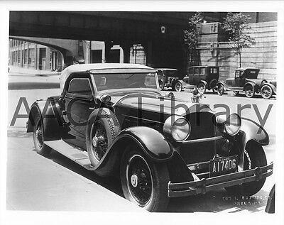 Ref. #61632 1927 Packard Model 444 Derham Speedster Factory Photo Picture