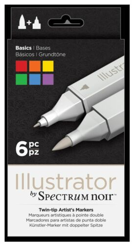 ILLUSTRATOR Pens New Product Crafters Companion Free UK p/&p Spectrum Noir