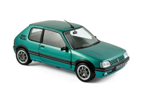 1:18 Peugeot 205 GTI Griffe 1.9L 1990 Green NOREV MODEL CAR DIECAST