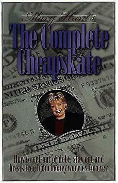 Complete Cheapskate : How to Get Out of Debt, Stay Out and Break Free -ExLibrary
