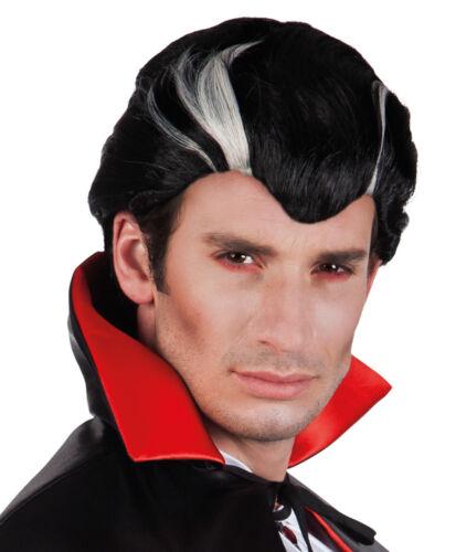 Karneval Klamotten Kostüm Perücke Vampir Dracula Mann Kurz Zubehör Halloween