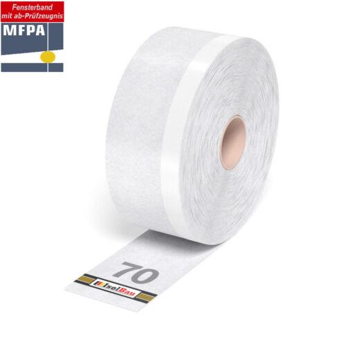 Fensterband 70 mm x 25 m Dichtband fensteranschlussband folienband extérieur Flexband