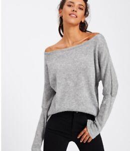 donna-SPALLA-SCOPERTA-maglione-lavorato-a-maglia-manica-lunga-Largo-PRIMAVERA