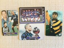 INTER F.C. CALCIO 4 PHONE CARDS FIGURINE RONALDO PAGLIUCA SQUADRA ROBY BAGGIO