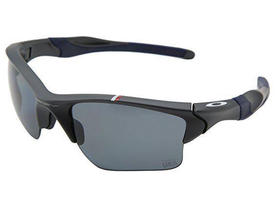 0aa8404c5f Oakley Mens Sunglasses Team USA Half Jacket 2.0 XL Dark Grey Oo9154  Olympics for sale online