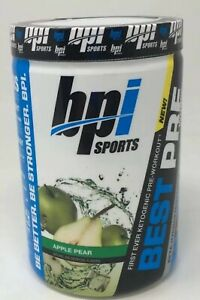 Best Pre Workout 2021 BPI Sports Best Pre Workout Apple Pear (30srv) Muscle Builder