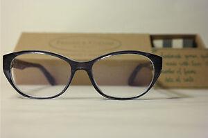 Frames & Cotton Marilyn 186 52[]17 140 Blau oval Brillengestell Brille NEU aakCp