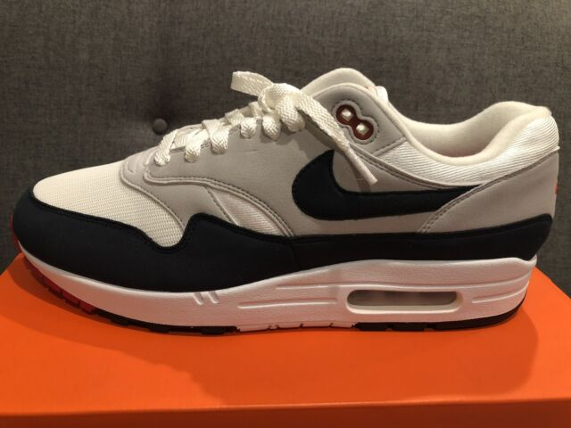 DS Nike Air Max 1 Anniversary Obsidian 908375 104 size 11 OG New