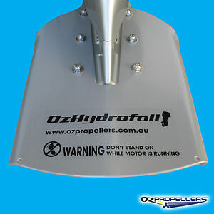 Honda Outboard Aluminium Hydrofoil Suits 8-9.9-15-20-25<wbr/>-30HP- OZHYDROFOIL